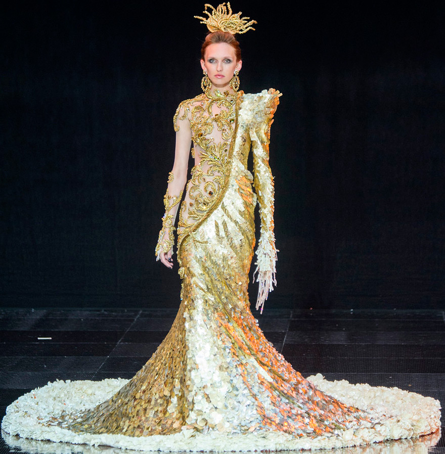 Роскошное платье Guo Pei 2019-2017
