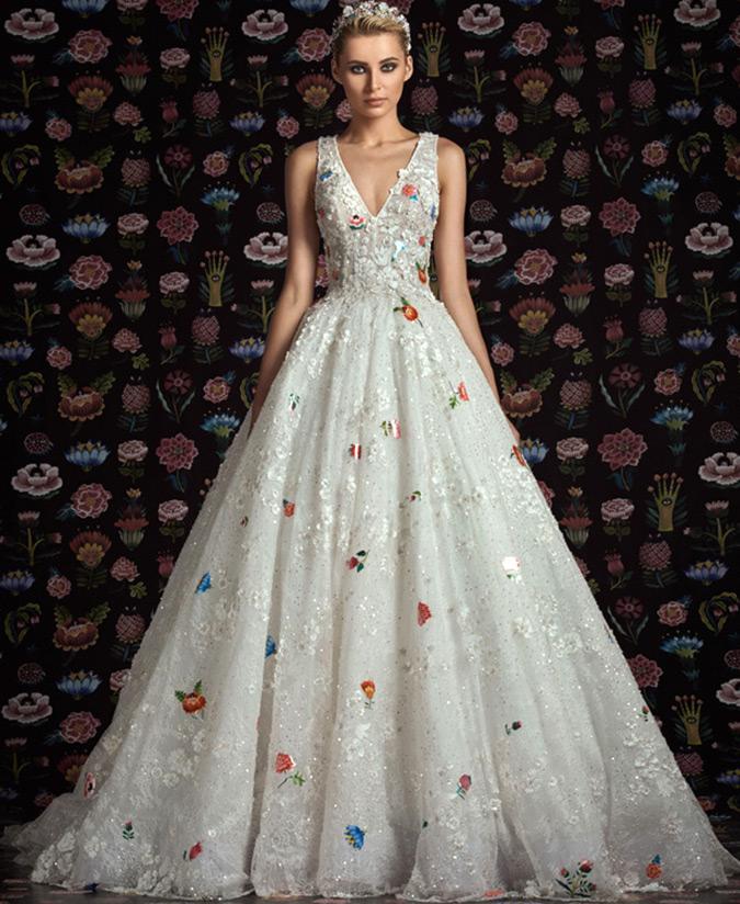 Свадебное Платье Rami Kadi