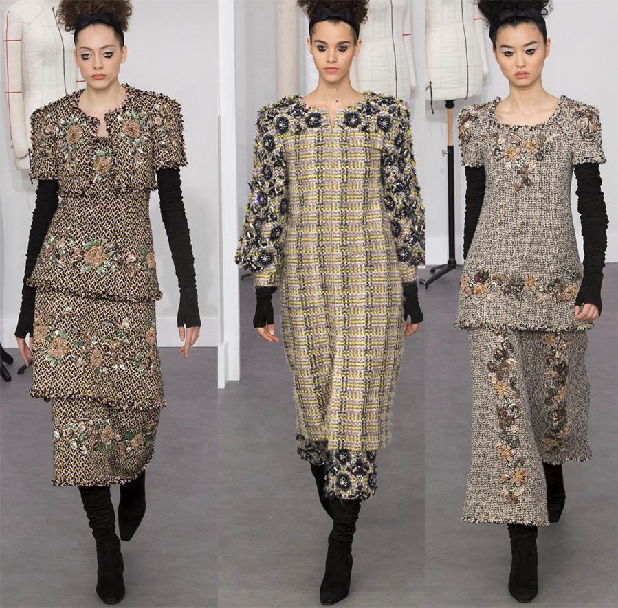 Платье и костюмы шанель