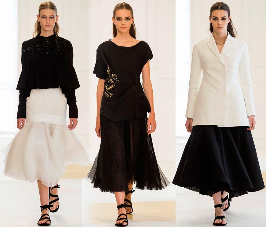 Современный кутюр в коллекции Christian Dior 2016-2017