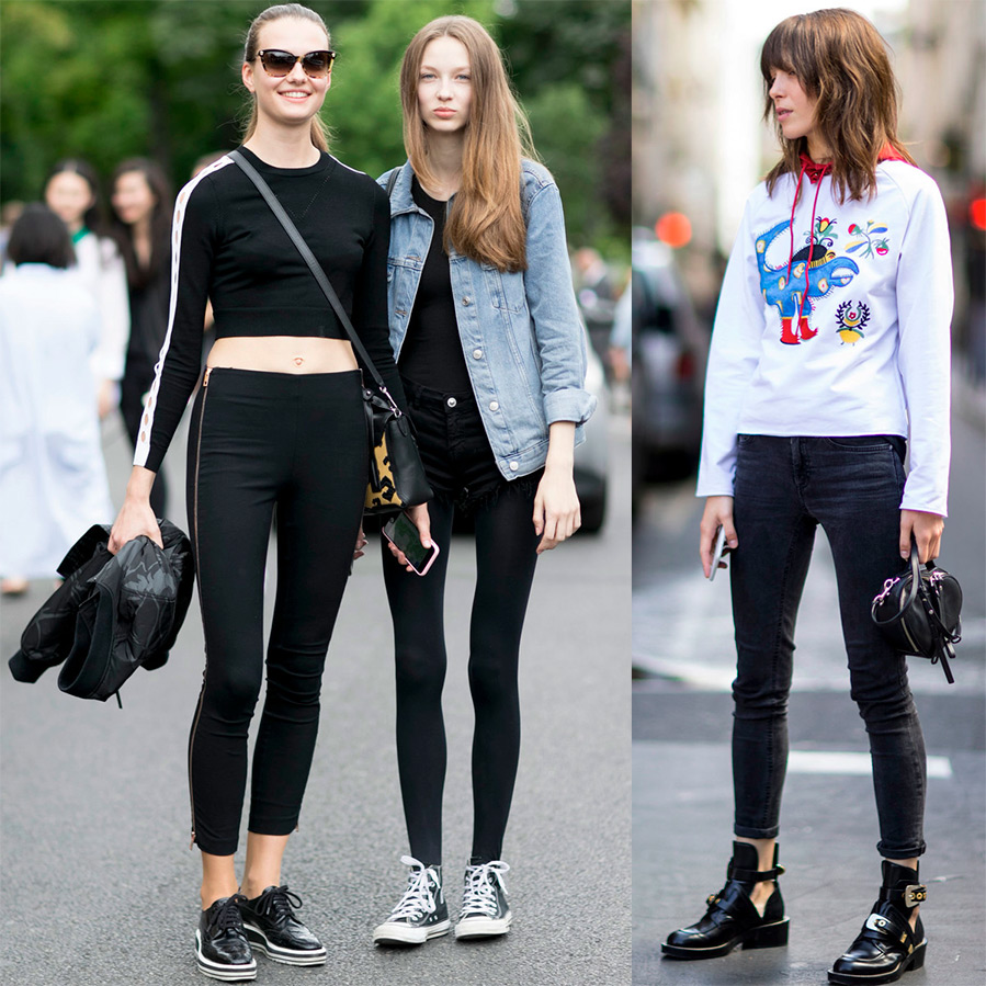models street style 2016-2017