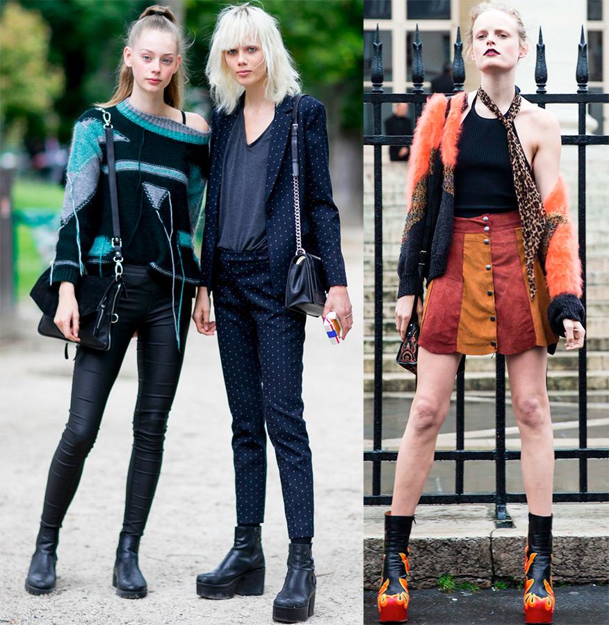 Уличный стиль одежды моделей 2016-2017