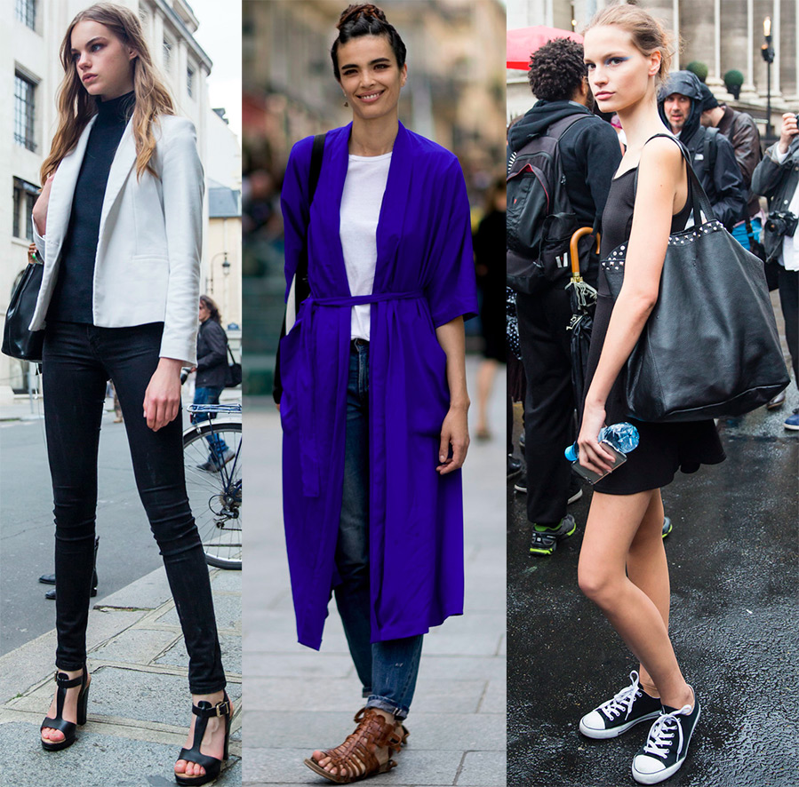 fashion models street style