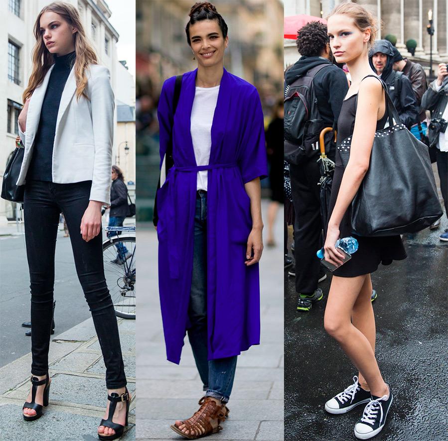 fashion models street style