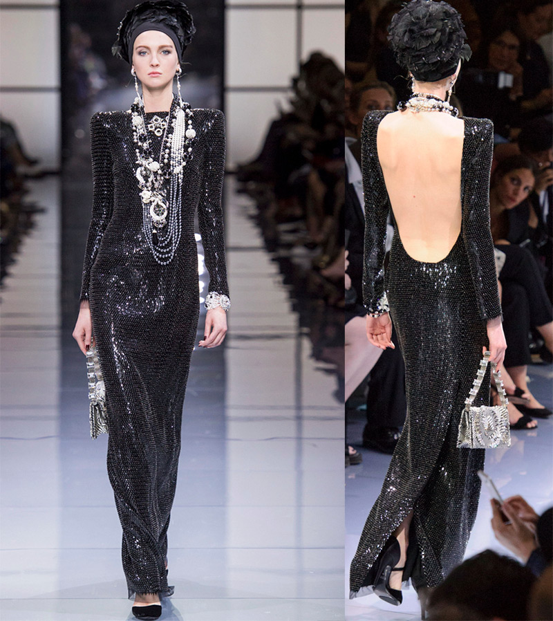 Вечерние платья Armani Prive