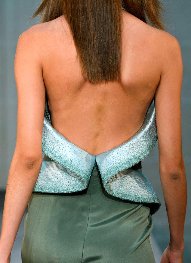Платье с открытой спиной Alexis Mabille