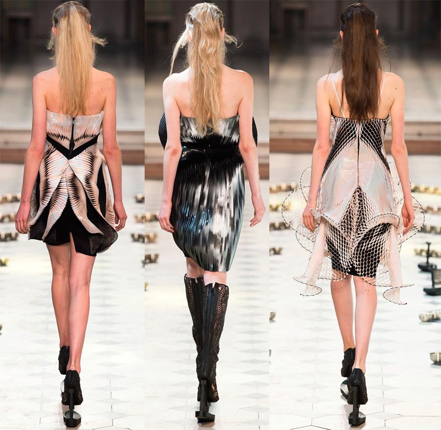 Короткие платья с открытой спиной