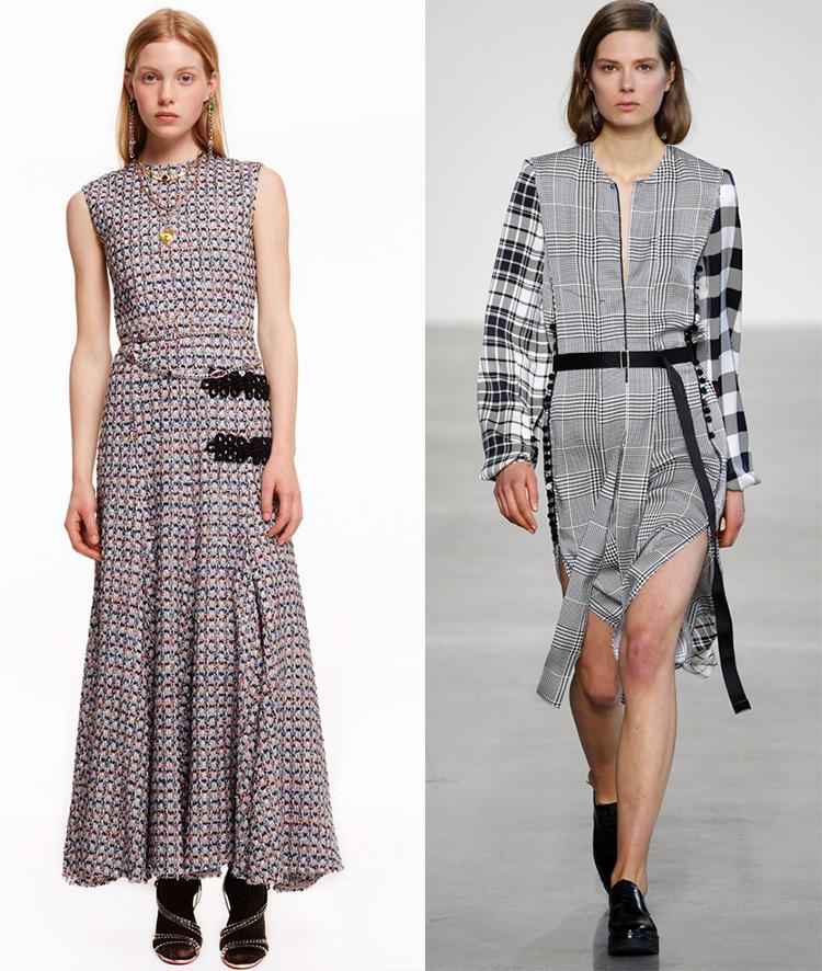 Модные юбки в клетку 2016 2017