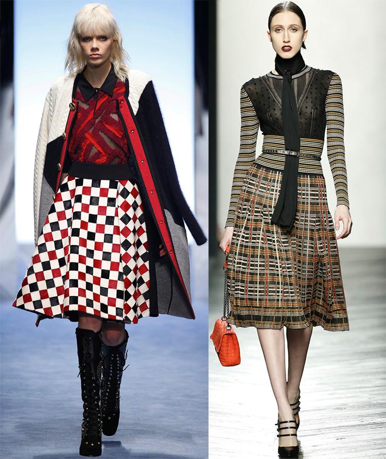 Женская одежда осень-зима 2016-2017