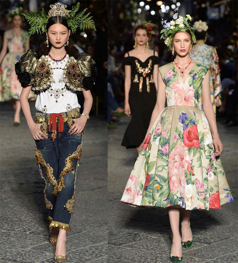 Кутюрная коллекция Dolce & Gabbana 2016-2017