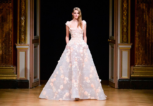 Свадьба в платье от кутюр из коллекций 2016-2017