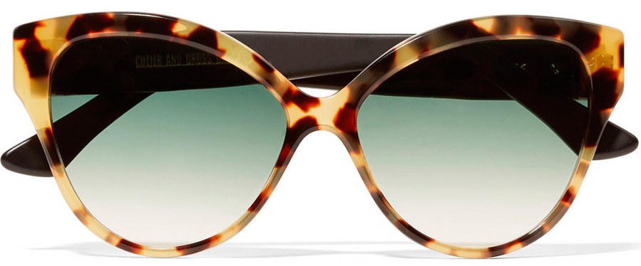 Модные солнцезащитные очки с леопардовым принтом