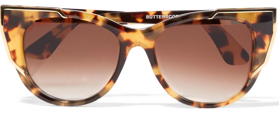 солнцезащитные очки с леопардовым принтом