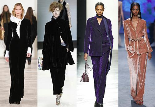 О стильных и модных нарядах из бархата