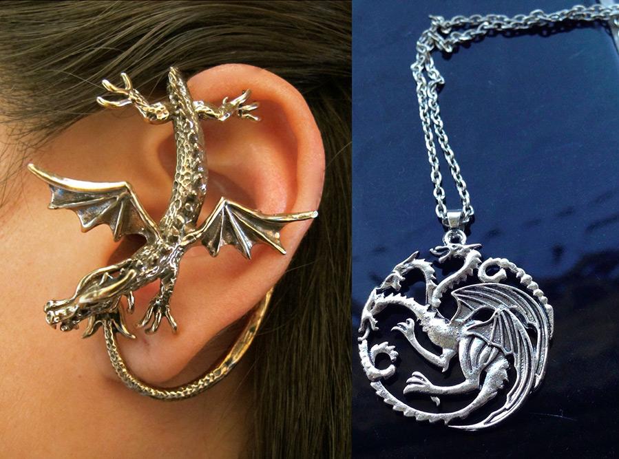 Украшения с драконами