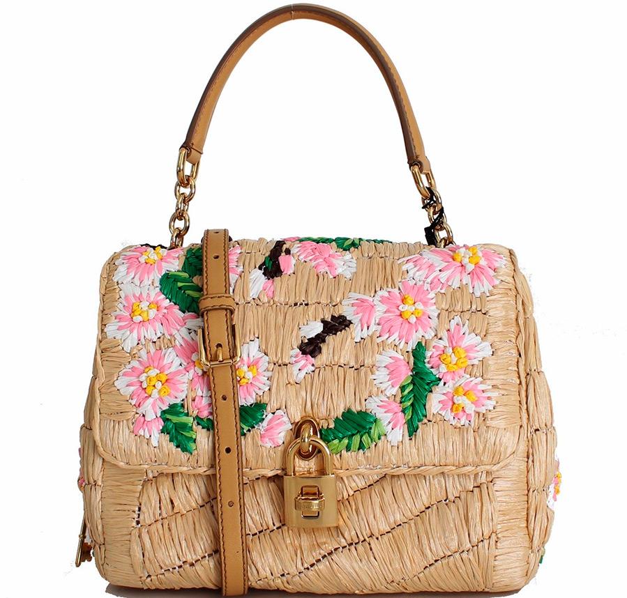 Соломенная сумка Dolce & Gabbana