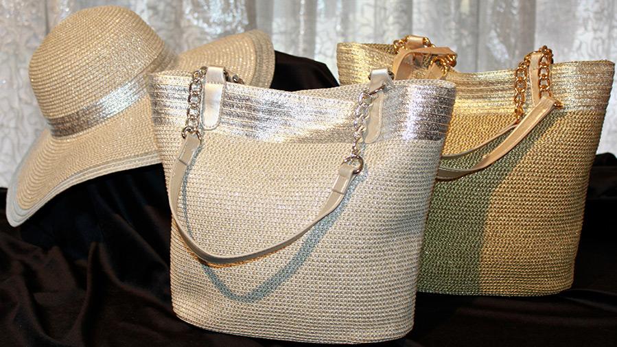 Соломенные женские сумки