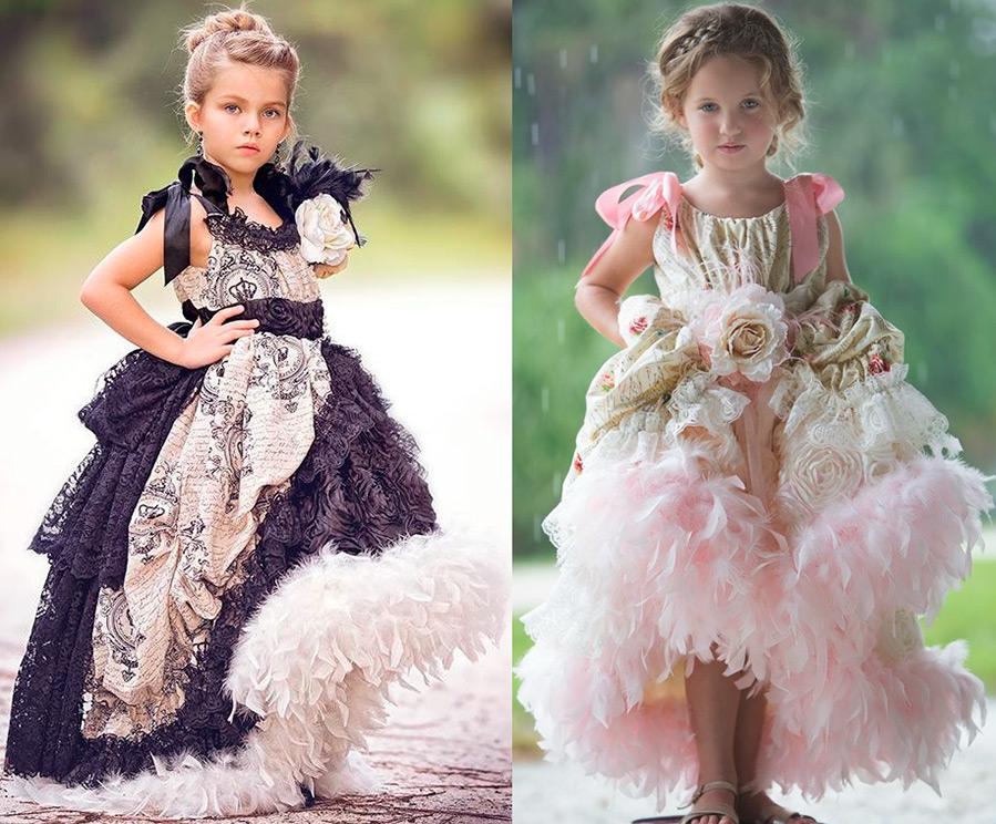 Роскошные платья для девочек