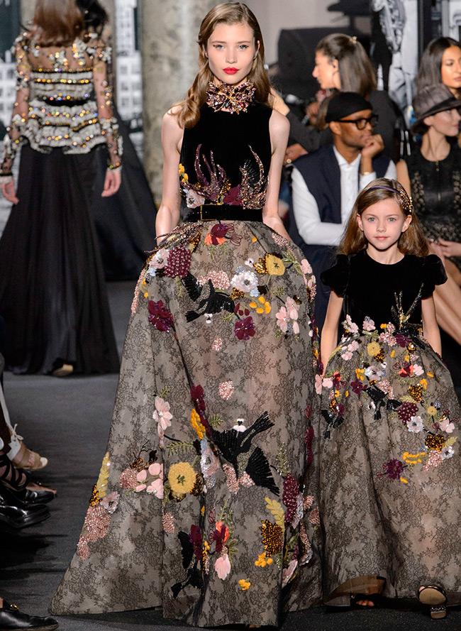 Нарядные платья для девочек Elie Saab