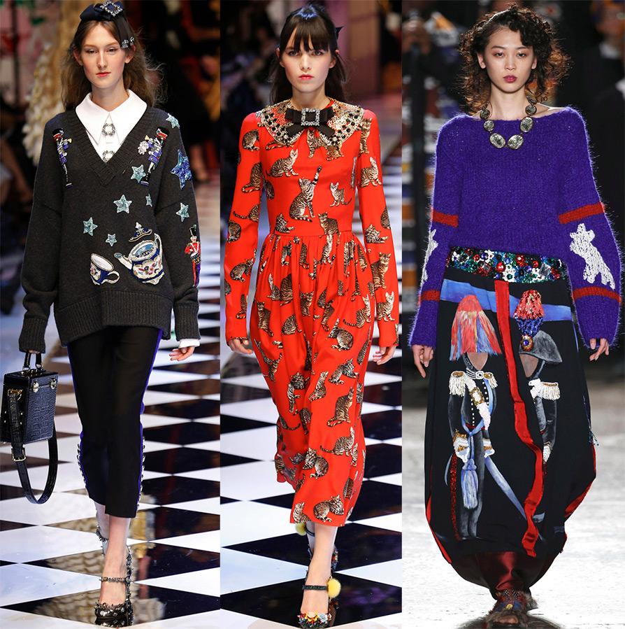 5cec06ca1a0a Мода осень-зима 2016-2017 для женщин - обзор модных тенденций