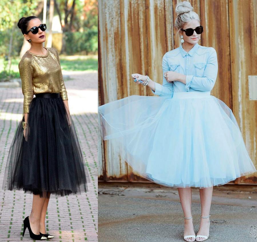 Самые пышные юбки и платья из фатина