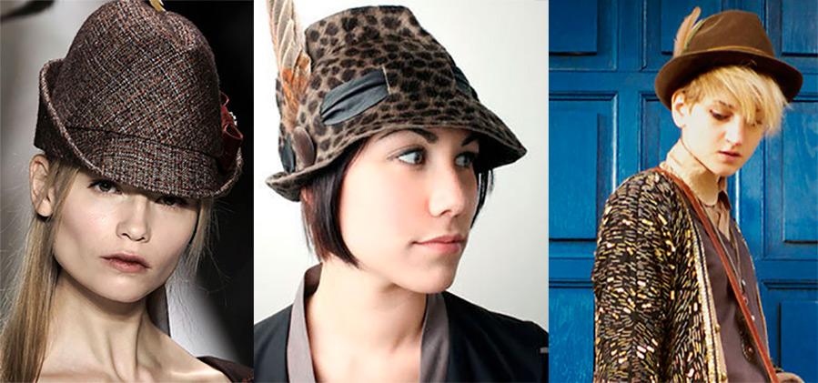 Тирольская шляпа в женском гардеробе