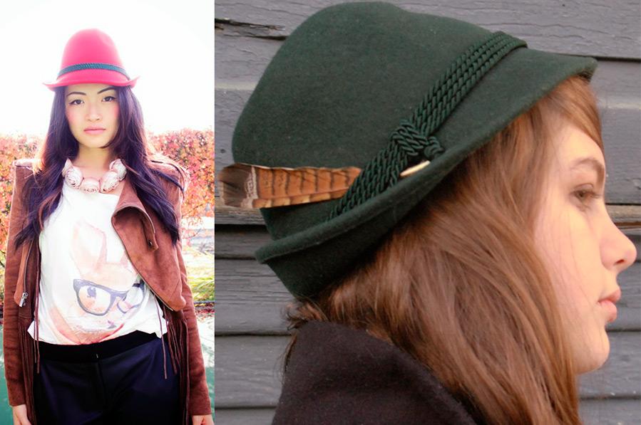 Тирольская шляпа для женщин