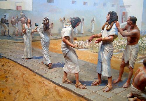 Мода и история костюма Древнего Египта