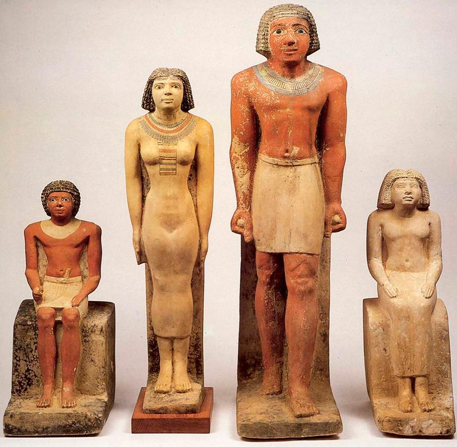 история костюма Древнего Египта