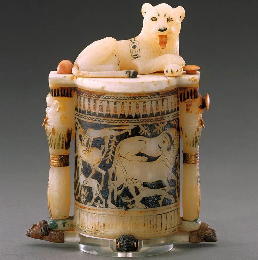 Сосуд для косметики Древнего Египта