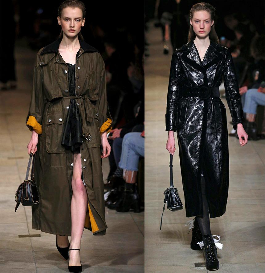Модное пальто Miu Miu