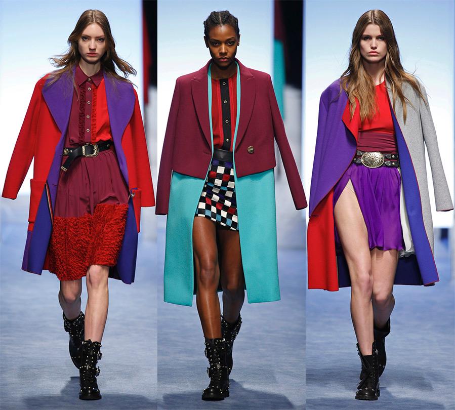 Яркие пальто Fausto Puglisi