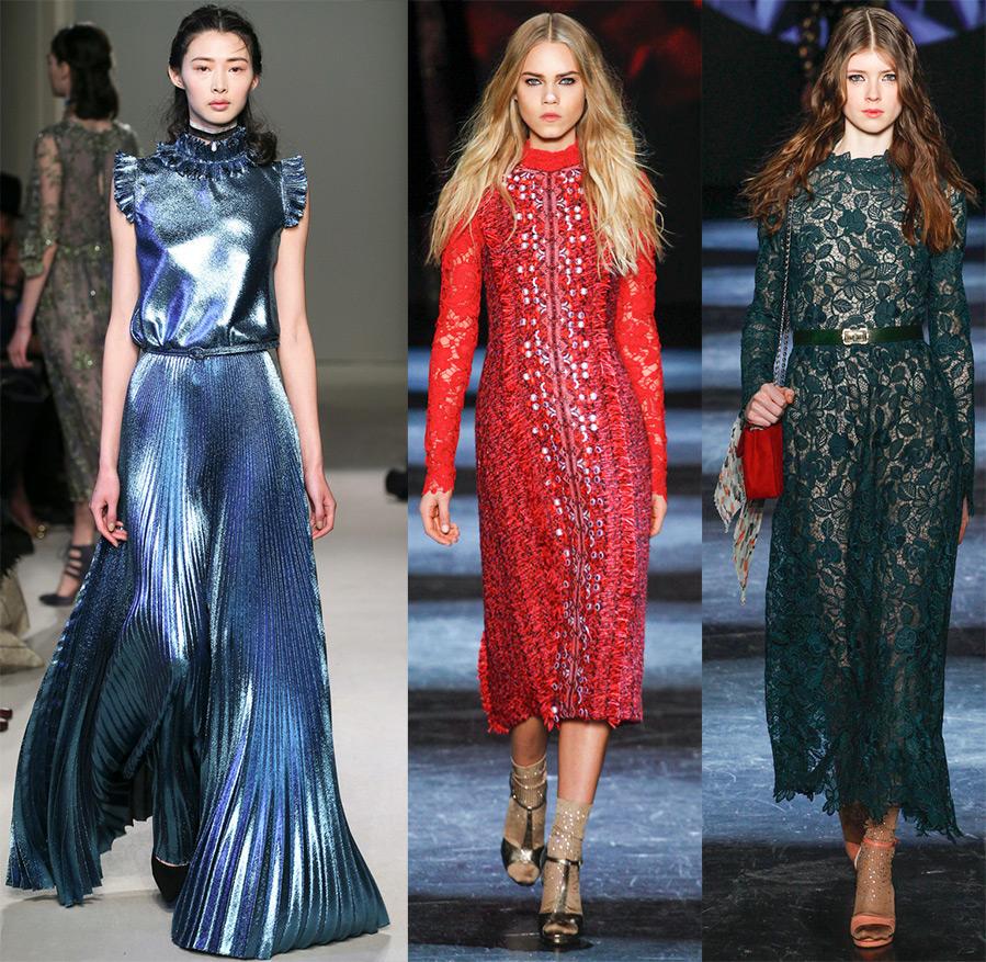 Платья осень-зима 2016-2017 и модные ткани f0afcf08cc0