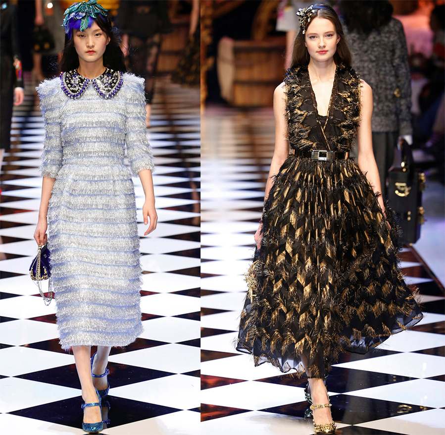Роскошные платья Dolce & Gabbana