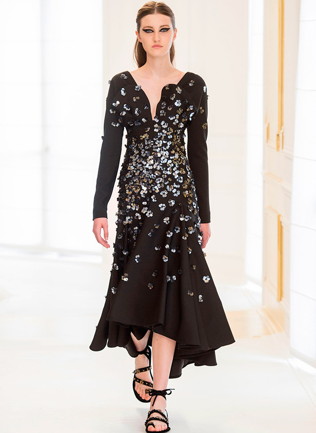 0b953c431d68 Черное платье осень-зима 2016-2017 – лучшие модели