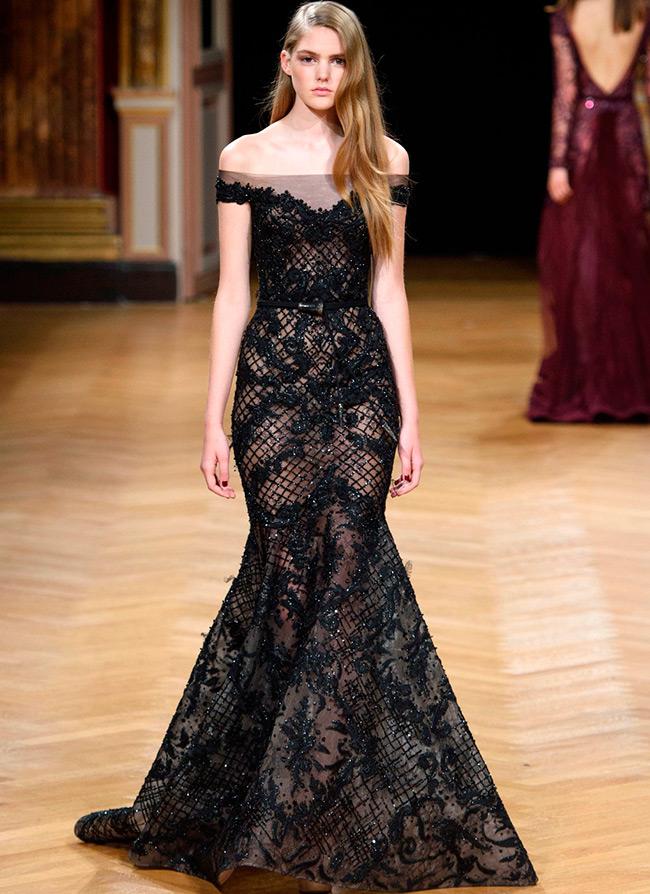 Черное платье 2016-2017