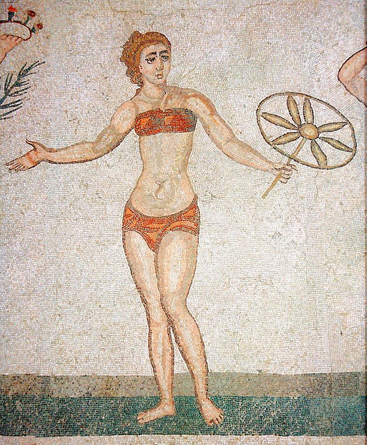Женская одежда Древнего Рима