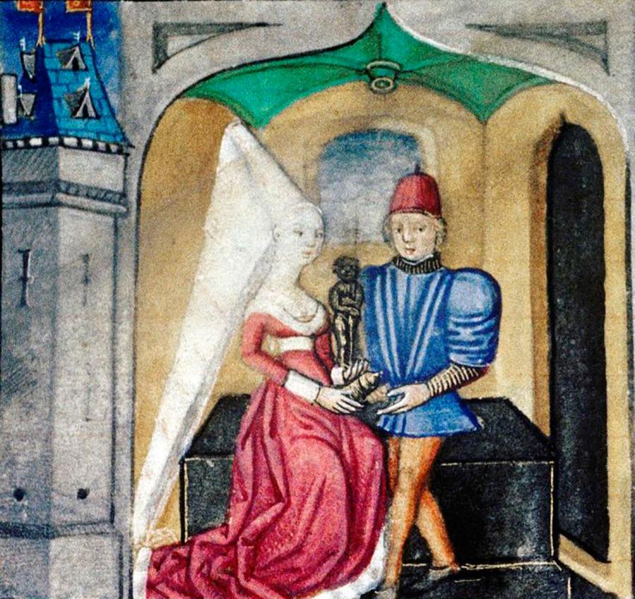 Как одевались готические принцессы – мода Средневековья