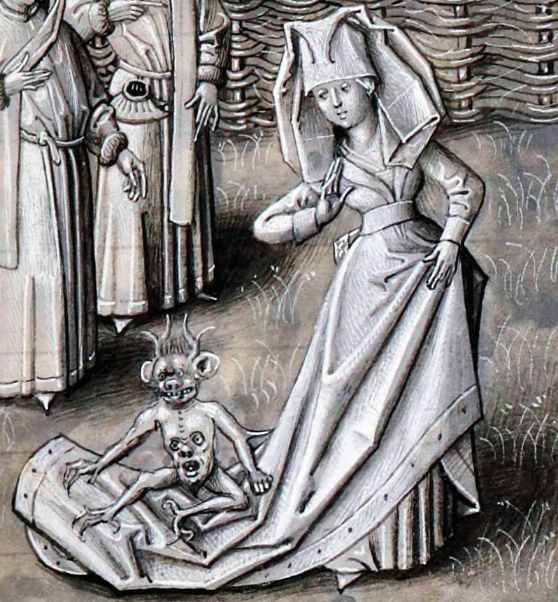 Как одевались готические принцессы