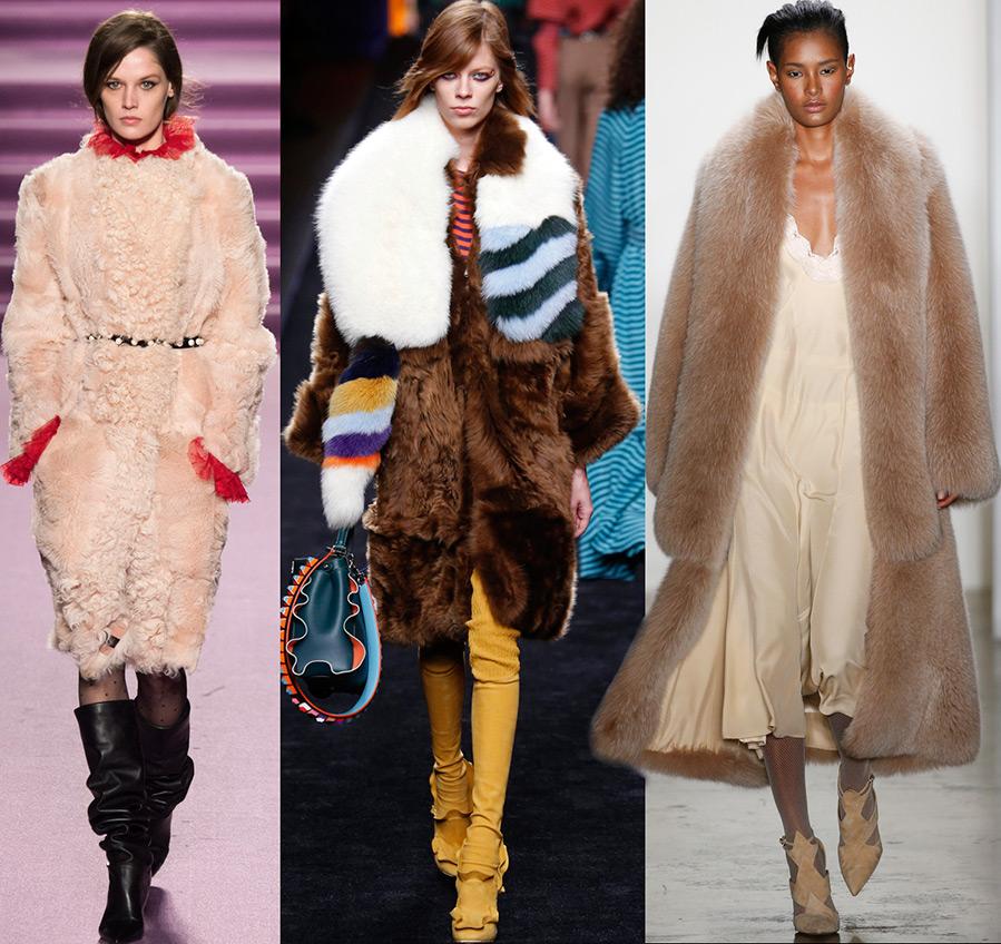 Модные женские шубы осень-зима 2016-2017
