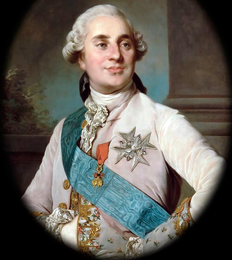 Портрет Людовика XVI
