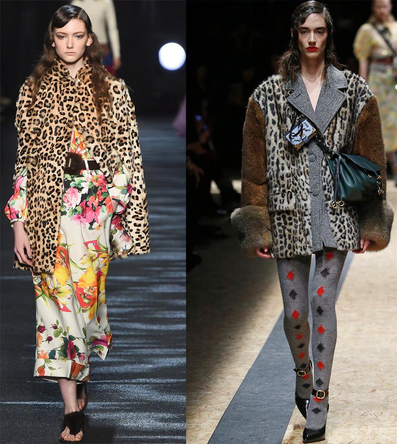Модная одежда с леопардовым принтом 2016-2017