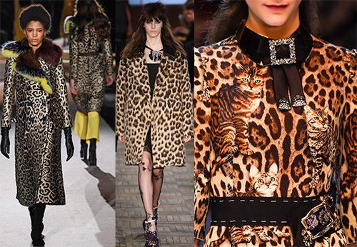 Модные женские вещи с леопардовым принтом 2016-2017