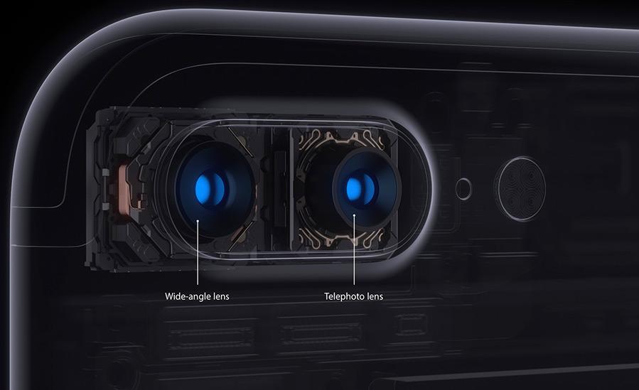 новая камера iPhone 7 Plus