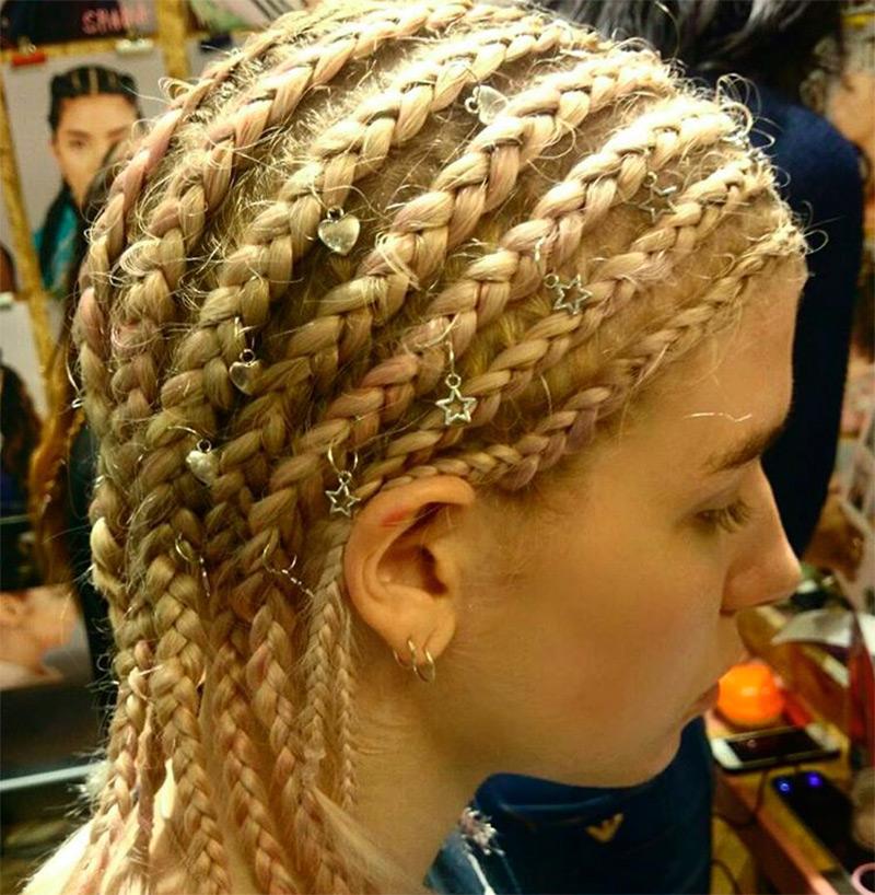Пирсинг для волос