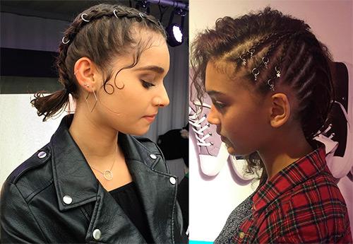 Пирсинг для волос - оригинальный бьюти-тренд