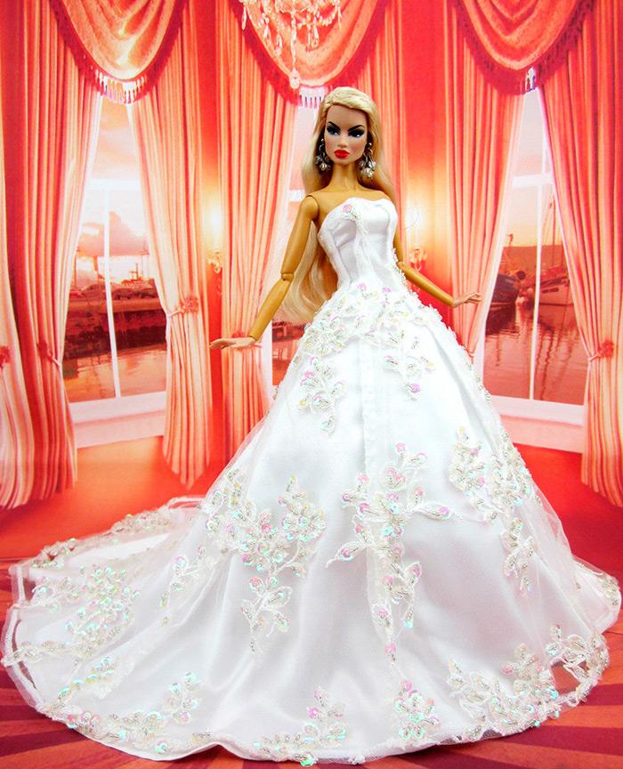 Свадебные платья для куклы-невесты