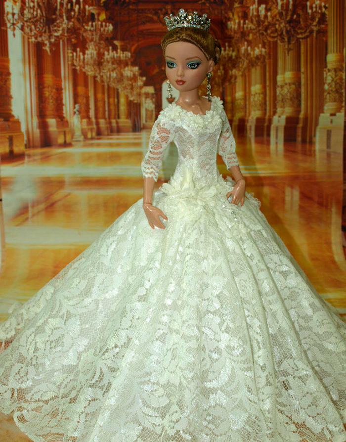 платье для куклы невесты фото китае всегда