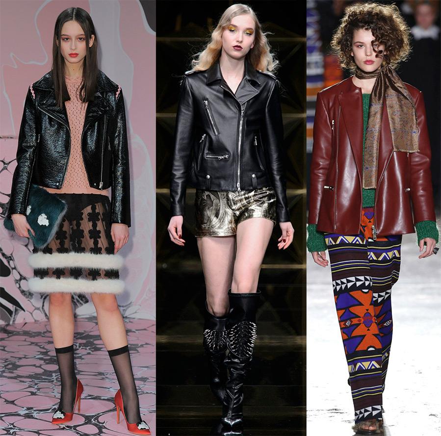 Модные женские куртки осень и зима 2016-2017