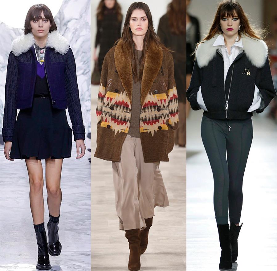 женские куртки осень зима 2016-2017